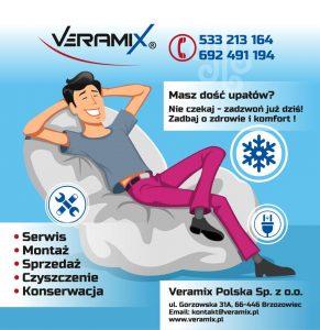 Veramix Polska - Montaż i Serwis klimatyzacji oraz pomp ciepła